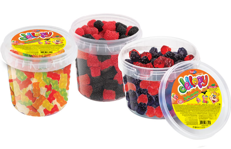 Jellopy Assorted Gummy Candies