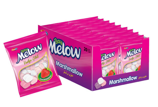 Bay Melow Strawberry Flavoured Marshmallow