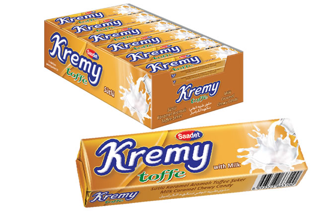 Kremy Milk Caramel Flavoured Toffee Candy