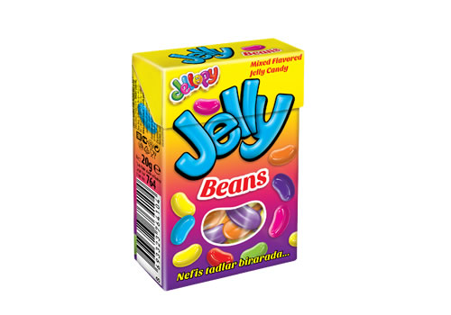 Jellopy Jelly Beans Assorted Gummy Candies