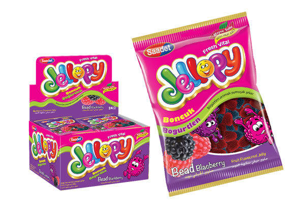 Jellopy Bead Blackberry