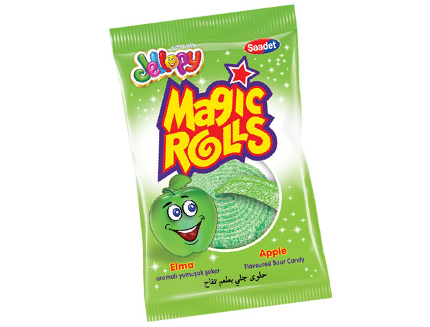 Jellopy Magic Rolls Apple Flavoured