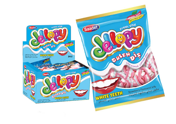 Jellopy White Teeth