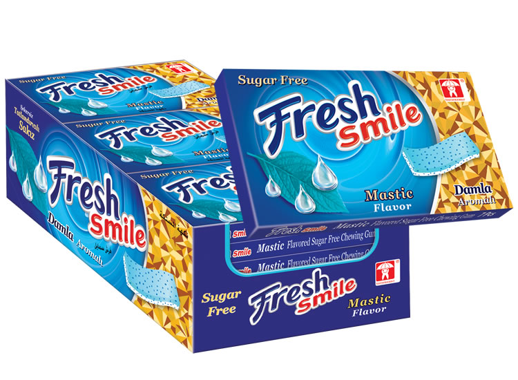 Fresh Smile Mastic Flavoured Sugar Free Gum